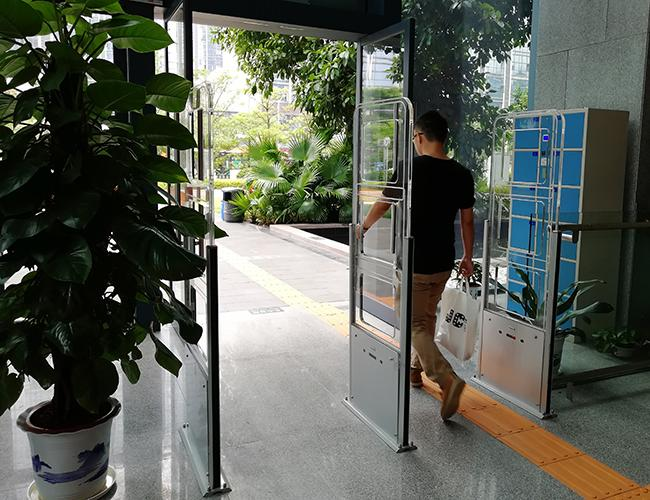 Door RFID Reader Long Distance , Library Security Gates Support Tag UID Detection
