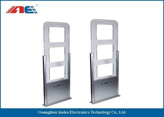 China HF Library RFID Reader Library Security Gates Width 90CM With Infrared Function supplier