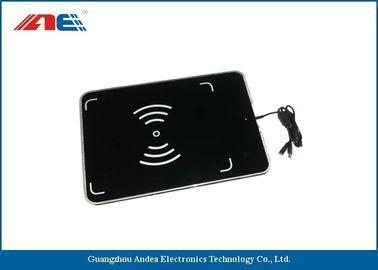 China Portable UHF Desktop RFID Reader Writer USB Interface With Antenna RF Power 1 - 27DBM supplier
