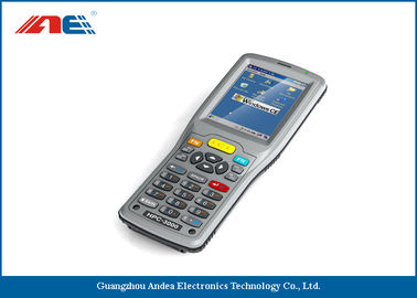 China WIN CE Operating System RFID Badge Reader , 0.2W Portable Handheld RFID Scanner supplier