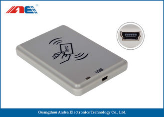 China ISO14443A / B USB RFID Reader For Personal Identification DC 5V Power Supply supplier