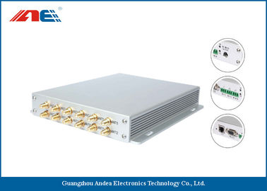 China 12 Channels Long Range RFID Reader / High Power RFID Reader For Rfid Detection System supplier