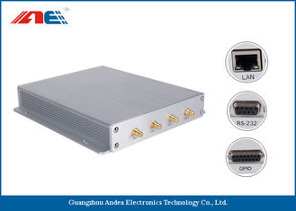 China SMA*4 Antenna Interface Long Range RFID Reader Reading Range 90CM With Four Channels supplier