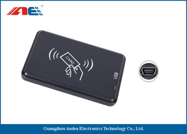 China Small Type Contactless RFID Reader Writer, High Frequency USB Reader Writer supplier