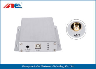 China Aluminum Alloy IOT RFID Reader HF Type Host And Scan Work Mode Support EMI Detection supplier