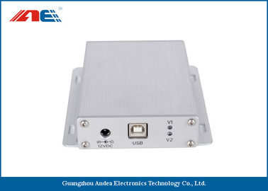 China USB Interface Mid Range RFID Reader 13.56MHz DC 12V Power Supply supplier
