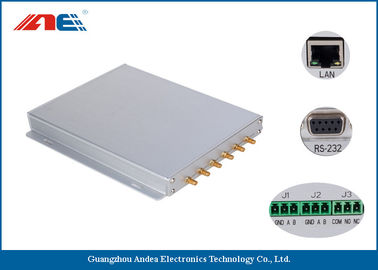 China ISO18000-3 Long Range RFID Reader RF Power 1 - 8W With Six Channels supplier