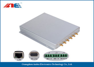 China Six Channels Fixed RFID Reader Support Multiple Antenna Ports 50pcs Per Second supplier