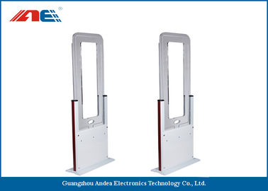 China Barrier Free RFID Time And Attendance Gate , RFID Portal Reader Acrylic And Metal Plate Housing supplier