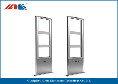 China Multi - Item Detection RFID Gate Reader For RFID Library Management System 1662 * 636 * 118mm supplier