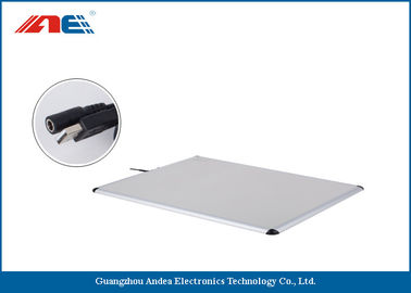 China Metal Shielding Multiple Tags RFID Desktop Reader USB Interface 50 Tags Per Second supplier