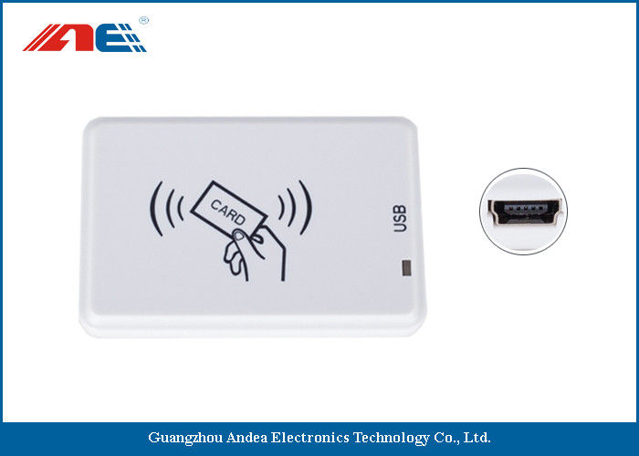 ISO18000 - 3 Mode 3 RFID USB Reader Writer For RFID Tagging