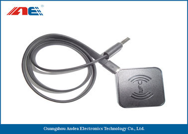 China USB Interface RFID Chip Reader Writer , ICODE ILT Passive RFID Tag Readers factory
