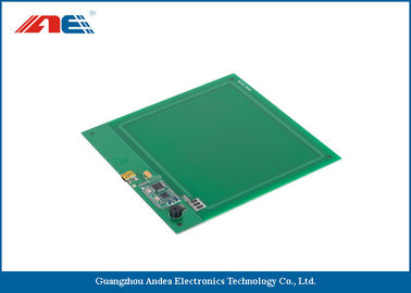 China HF Embedded RFID Reader USB RFID Writer Size 150*150 MM PCB Board factory