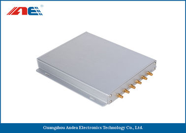 China 6 Channels IOT RFID Reader RS232 RS485 And Ethernet Interface 1 - 8W RF Power distributor