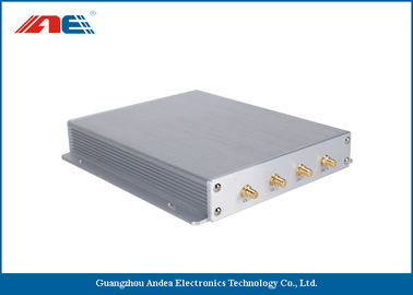 China Asset Tracking RFID Long Range Reader With 4 Antenna Interface Adjustable RF Power distributor