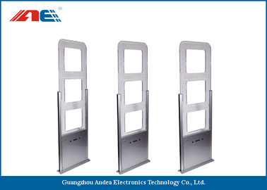 China Network RFID Reader Entrance Security Gates , Indoor Library Books Security Gates distributor