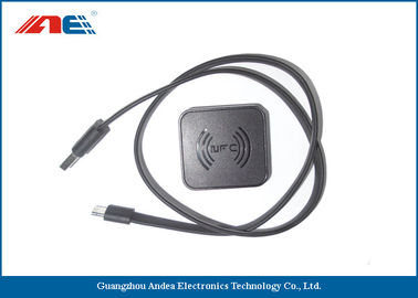 China Desktop NFC RFID Reader For Reading NTAG21x Tags USB 2.0 Interface distributor