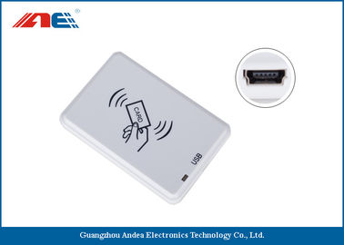 China Compact NFC RFID Reader Desktop Square NFC Reader Integrated Key Handling distributor