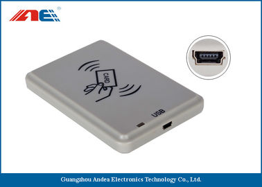 ISO14443A / B USB RFID Reader For Personal Identification DC 5V Power Supply