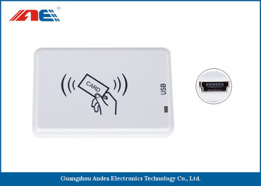 China ISO18000 - 3 Mode 3 RFID USB Reader Writer For RFID Tagging System Micro Power 200mW DC5V distributor