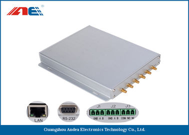 China Six Channels Fixed RFID Reader Support Multiple Antenna Ports 50pcs Per Second distributor