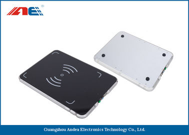 China 0.2W RF Power Integrated RFID Pad Reader , Lightweight 13.56 Mhz RFID Reader Writer factory