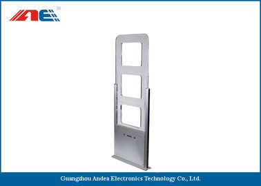 China Door RFID Reader Long Distance , Library Security Gates Support Tag UID Detection distributor