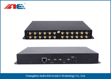 China 13.56MHz Long Range RFID Readers With 24 Channels Reading Range 90CM distributor