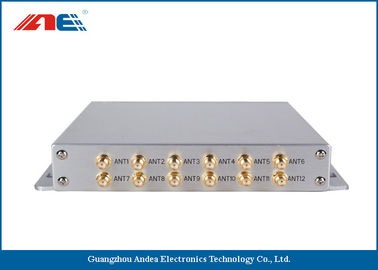 China High Power Stationary RFID Reader Long Range , RFID Long Distance Reader Support EMI Detection distributor