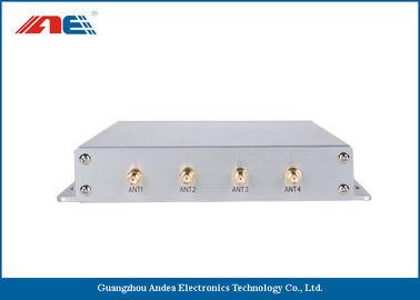 China Adjustable RF Power 1 - 8W Passive RFID Readers , Long Range RFID Readers 1055g distributor