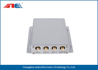 China Medium Power Square RFID Reader RS232 , Four Channels RFID Antenna Reader distributor