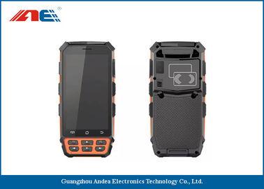 China 5.0 Inch IPS Panel Display Handheld RFID Reader PDA RFID Barcode Scanner Reading Range 30CM distributor