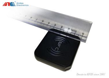 China Compact Portable Contactless Card HF USB RFID Reader ISO15693 ISO14443 distributor